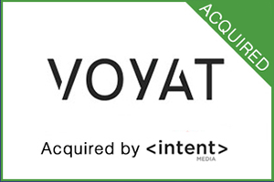 Sold to  Intent Media     Cloud-based hotel analytics platform