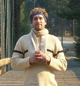 Jake on bridge
