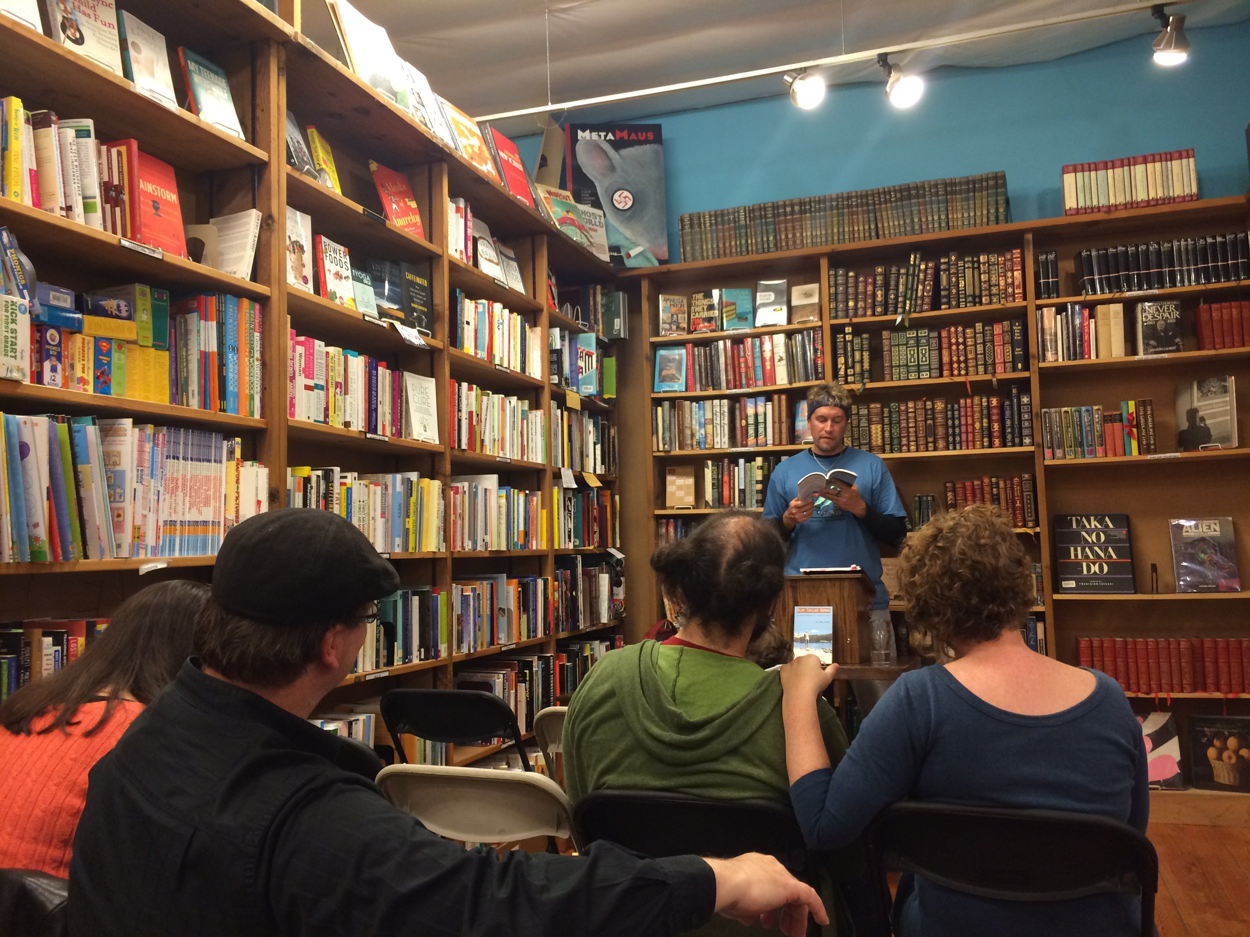 Jake reading at Ravenna - Third Place Books in Seattle