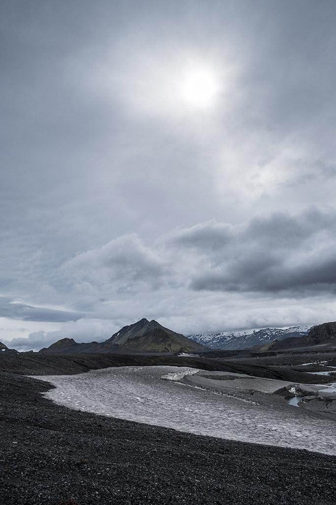 Hiking form Skogar to landmannalaugar