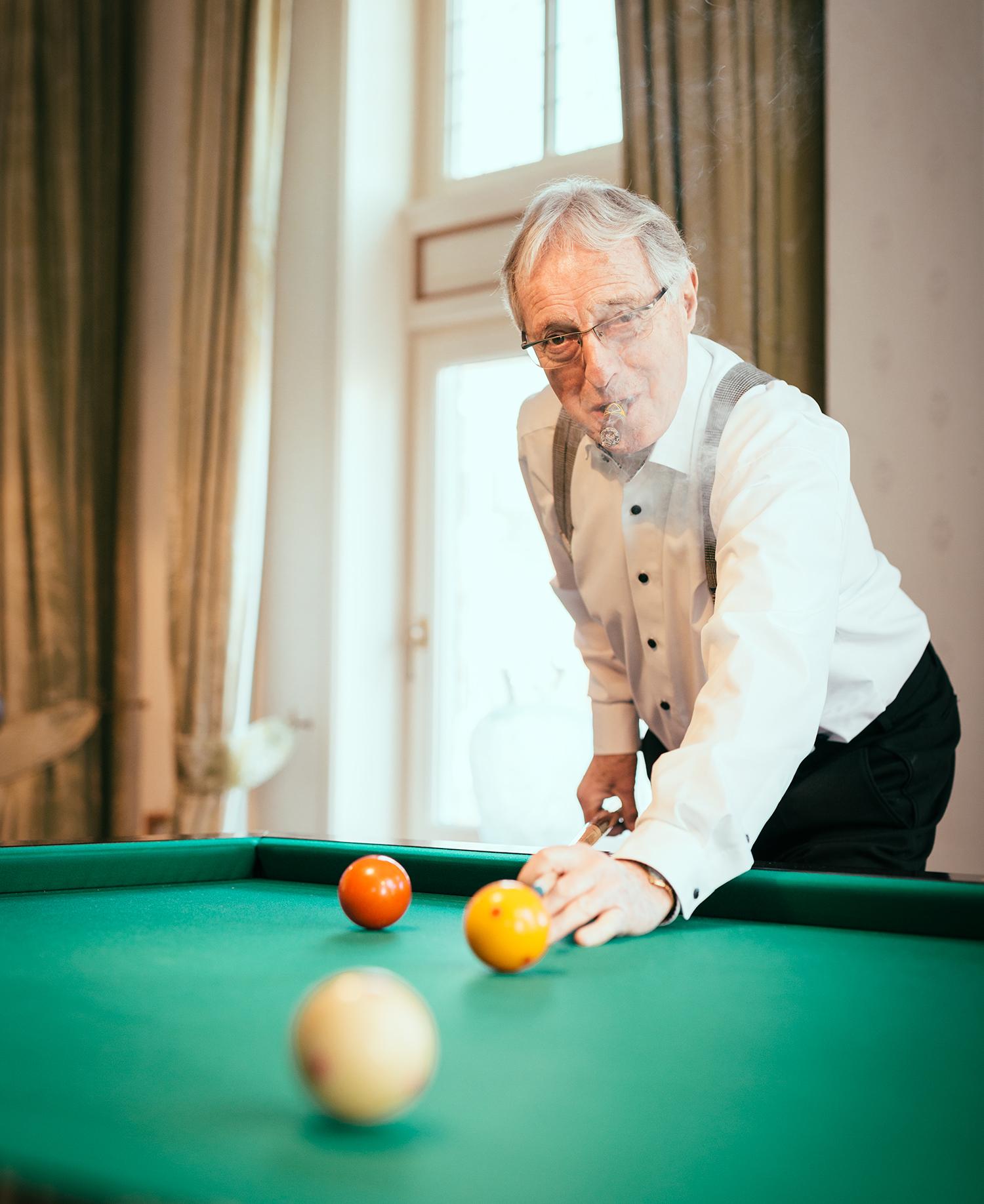 Theo Heuft gefotografeerd voor de rubriek van Sander de Kramer