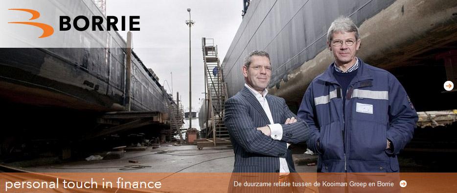Portret op locatie gemaakt voor Accountantsfirma Borrie