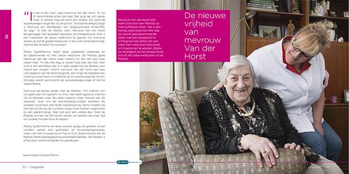 Portretfotografie voor brochure Mediq