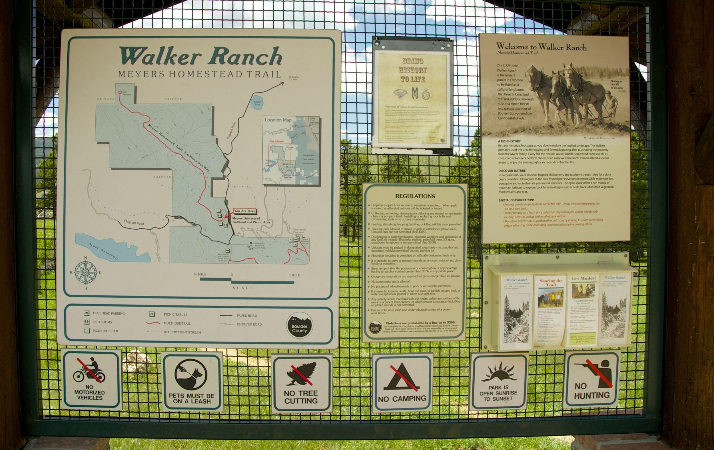 Walker Ranch Trails