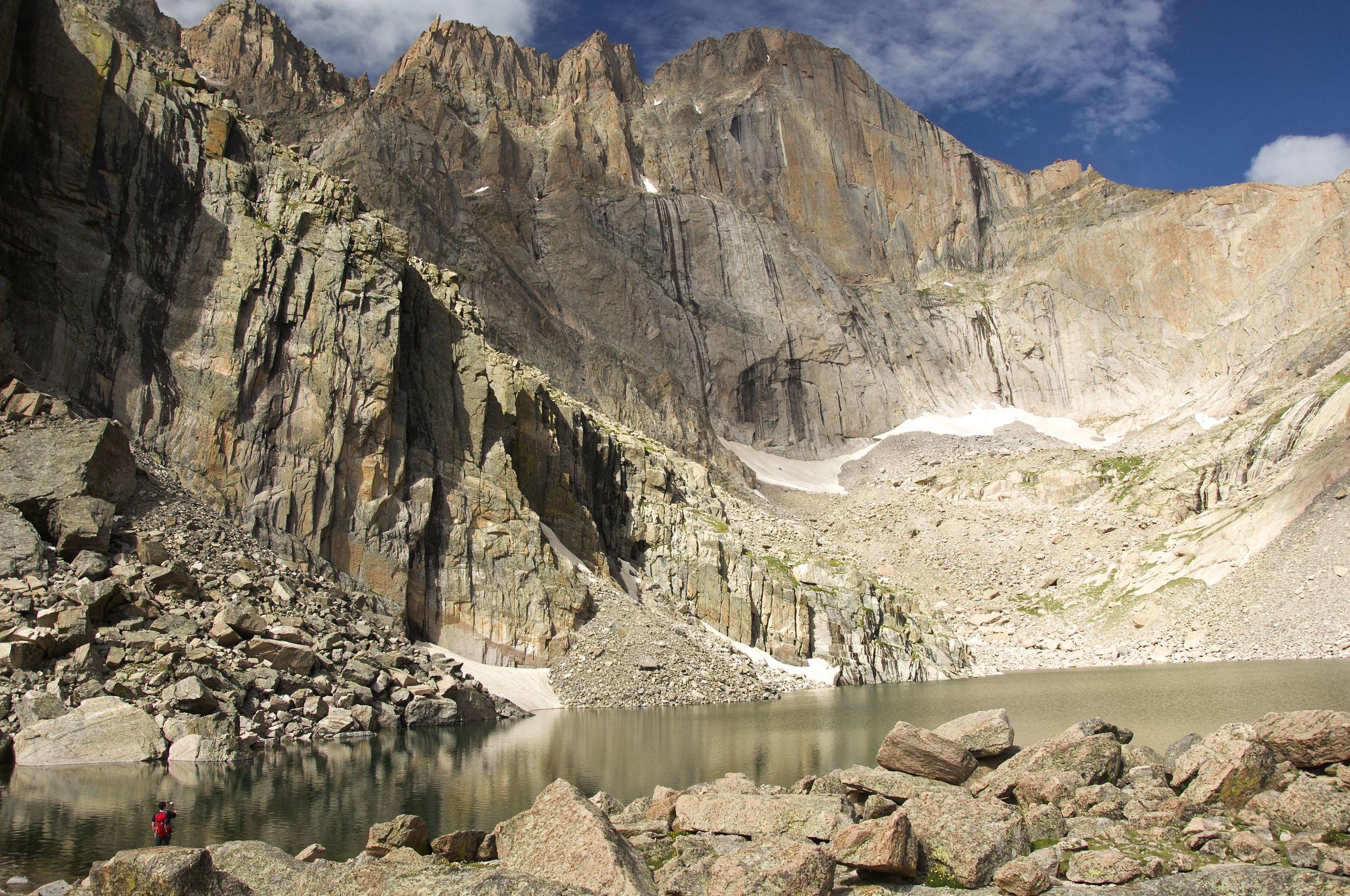 Chasm Lake and Long's Peak