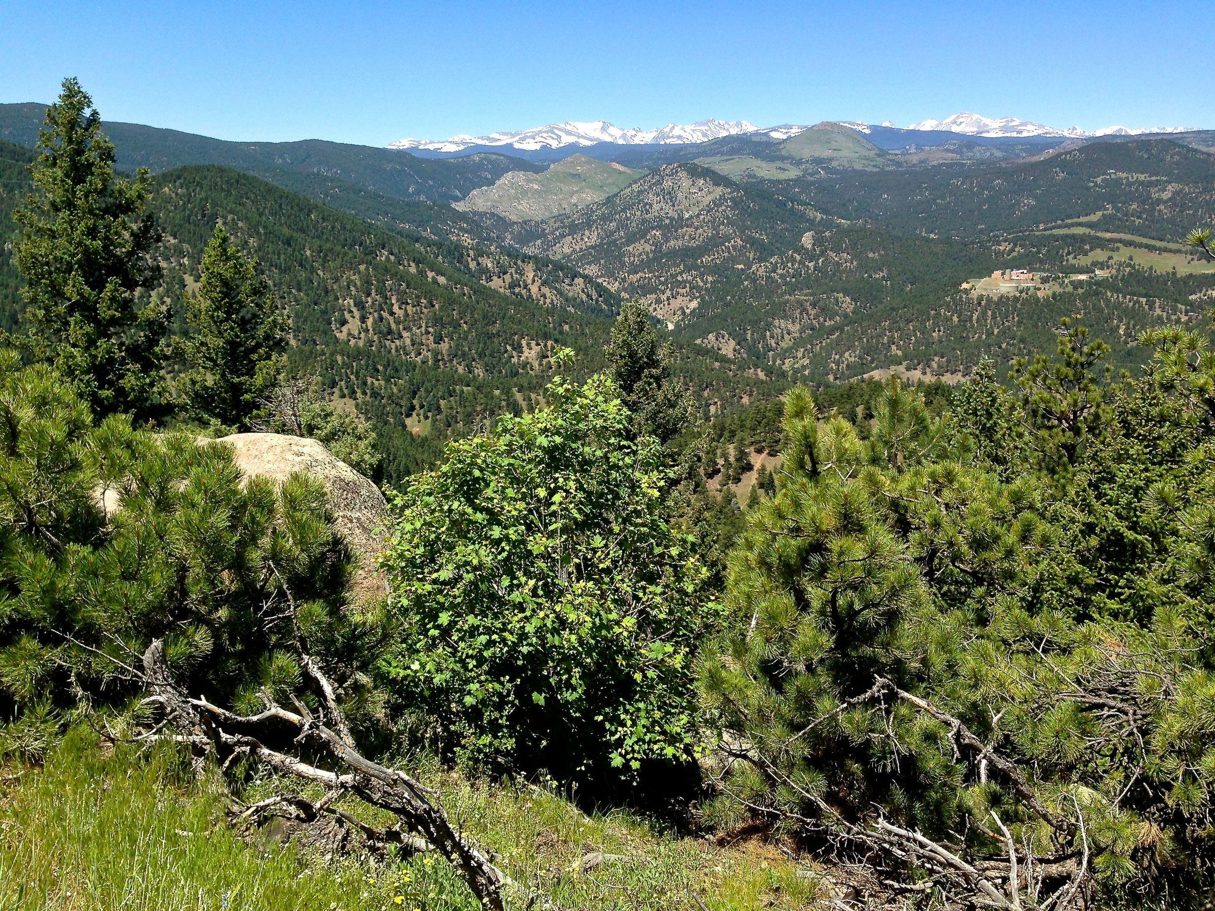 Range view Trail Boulder
