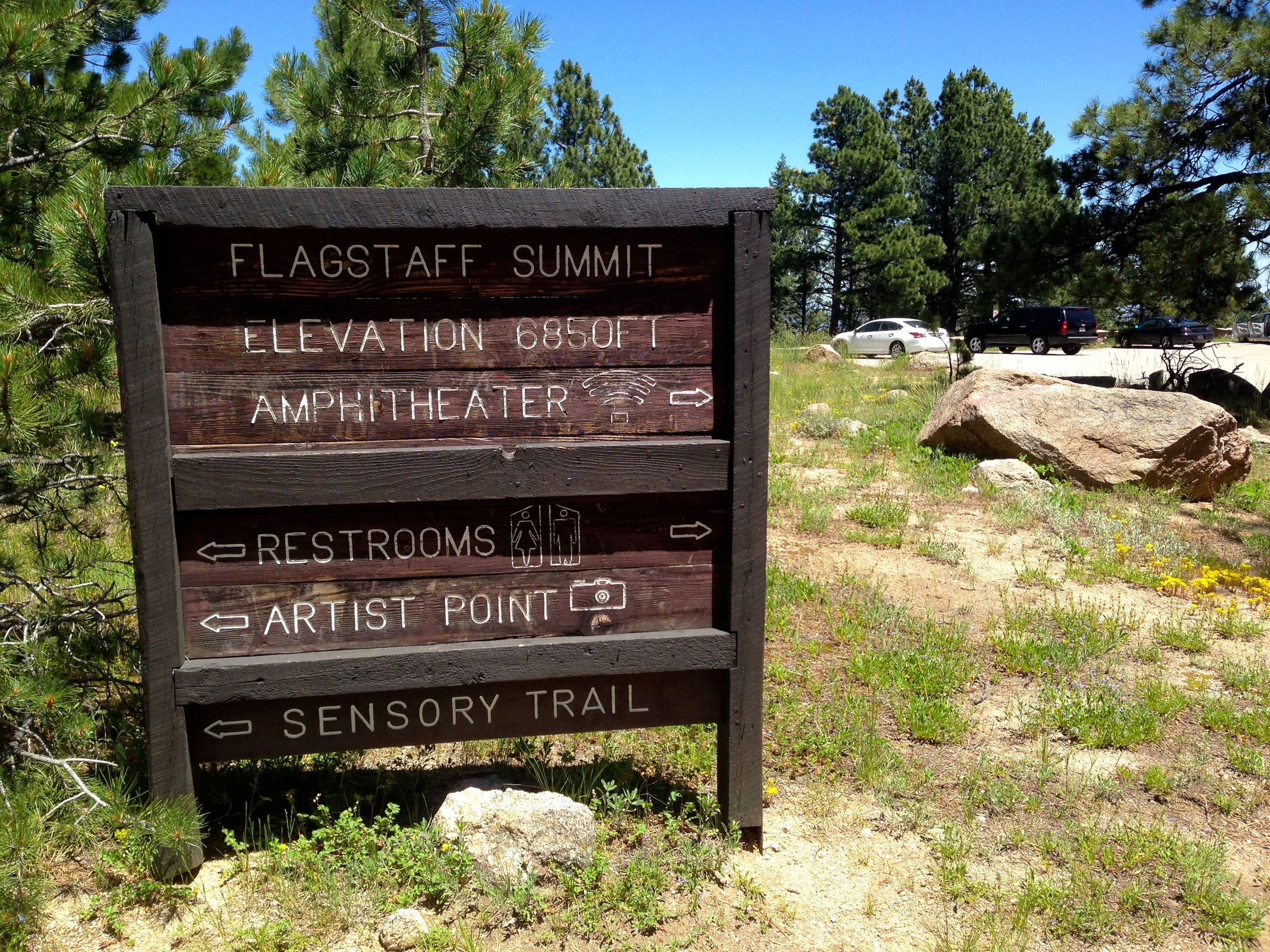 Flagstaff Summit Boulder