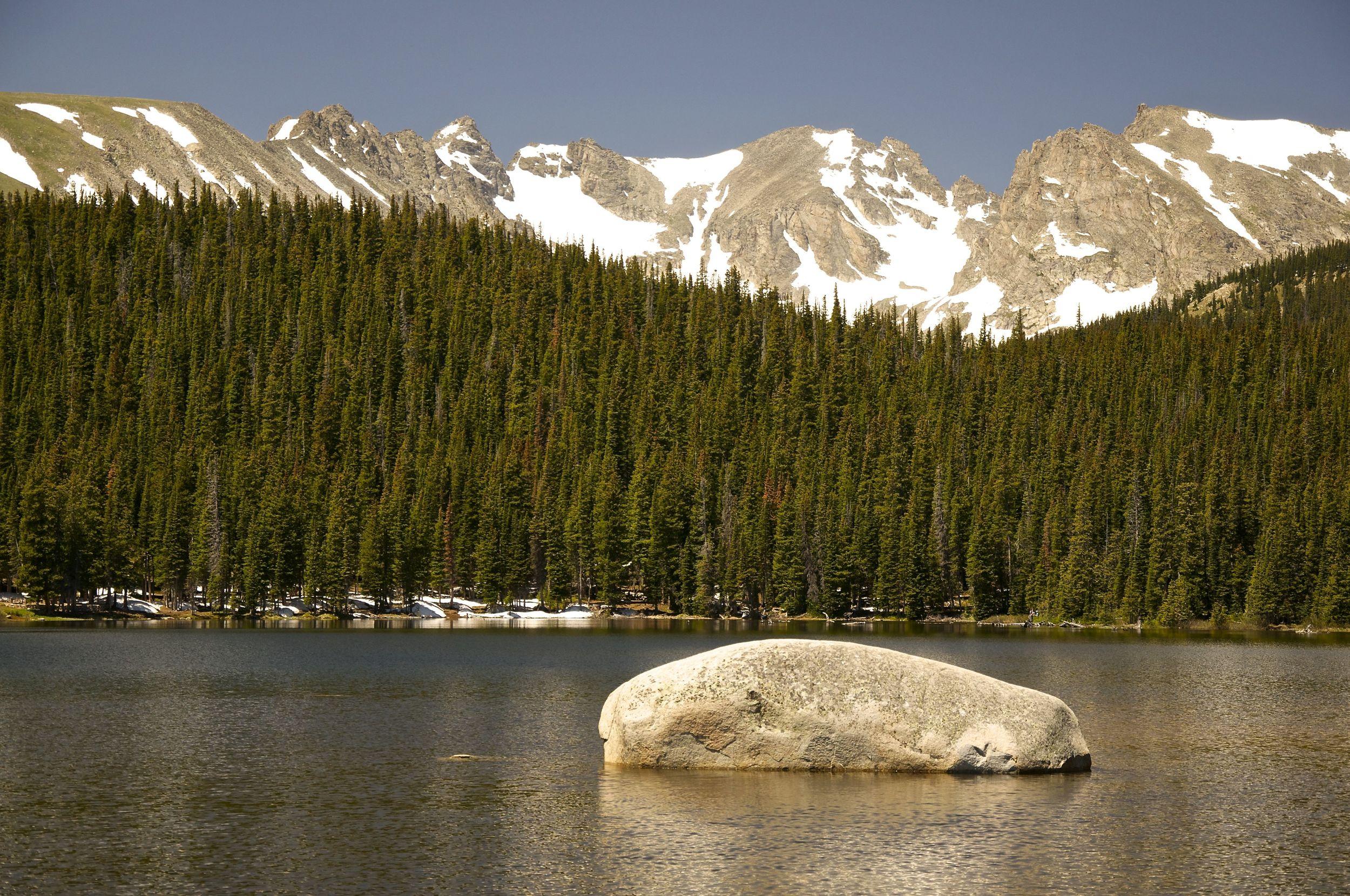 Brainard Lake Boulder