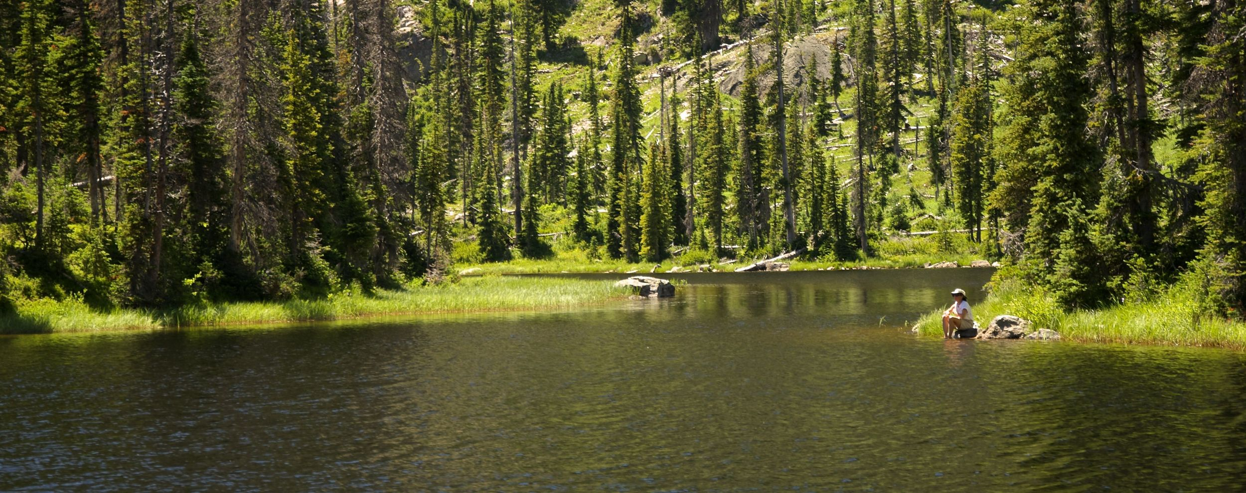 Three Island Lake, Steamboat Springs, Colorado hiking trail