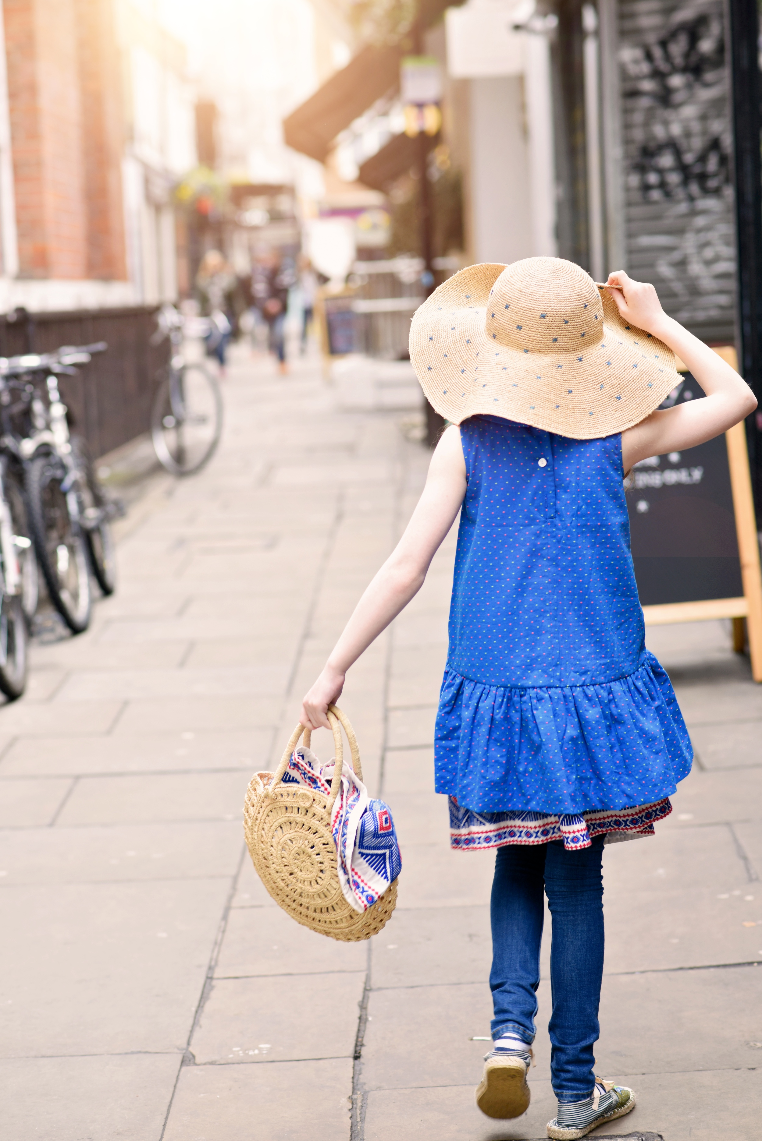 Enfant Street Style by Gina Kim Photography Bonpoint hat