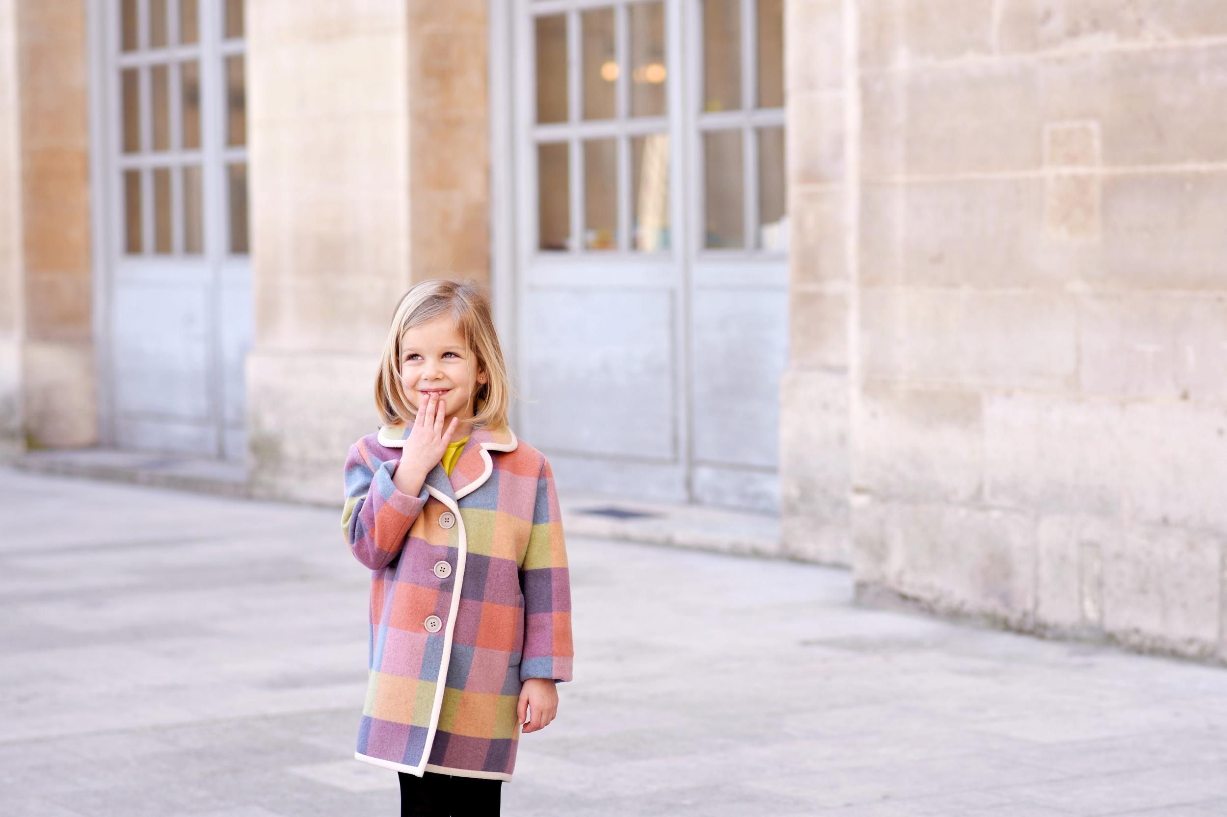 Enfant Street Style by Gina Kim Photography mini preen coat