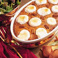 Fancy Mashed Sweet Potatoes