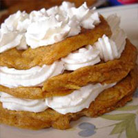 Louisiana Sweet Potato Pancakes
