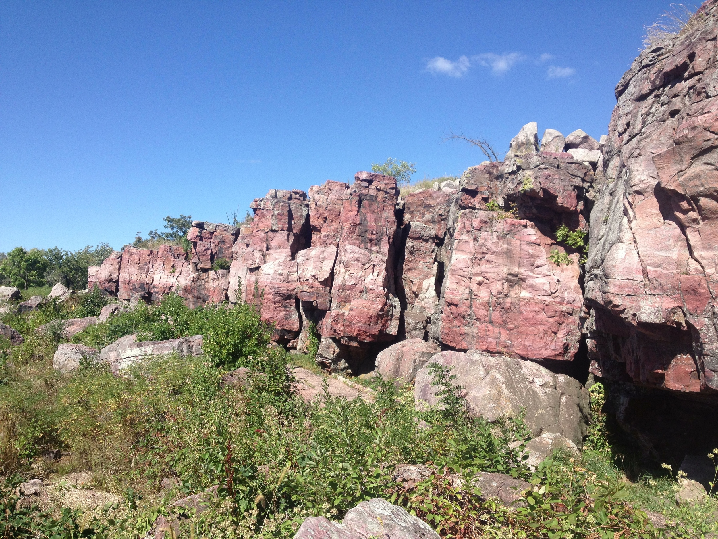 The Cliffs of Pipestone National Monument