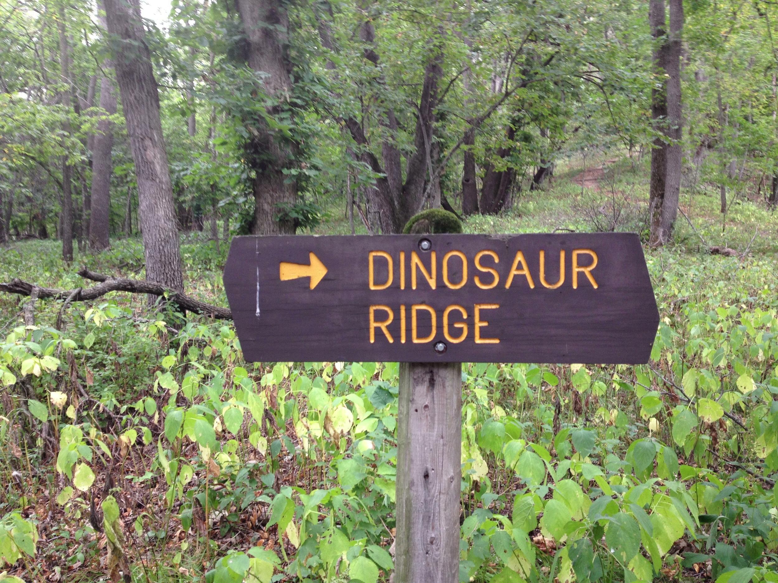 Dinosaur Ridge at Kilen Woods State Park