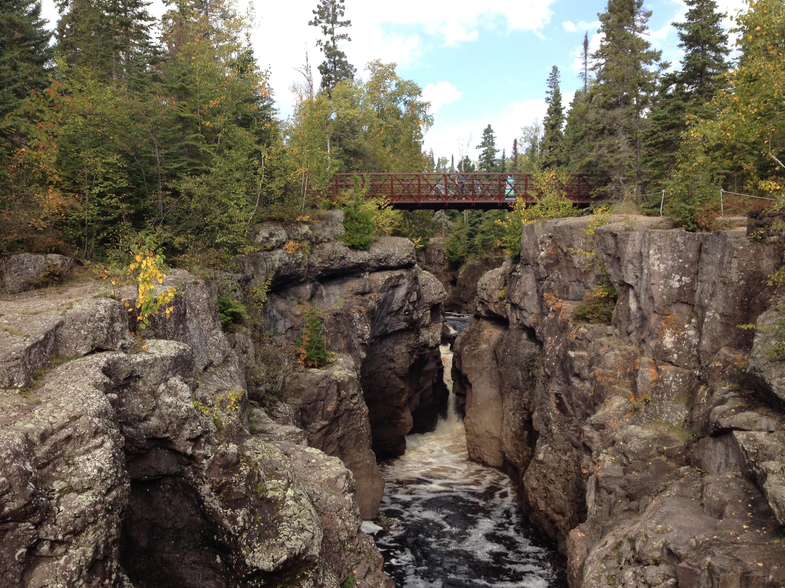 The Bridge at Temperance River State Park