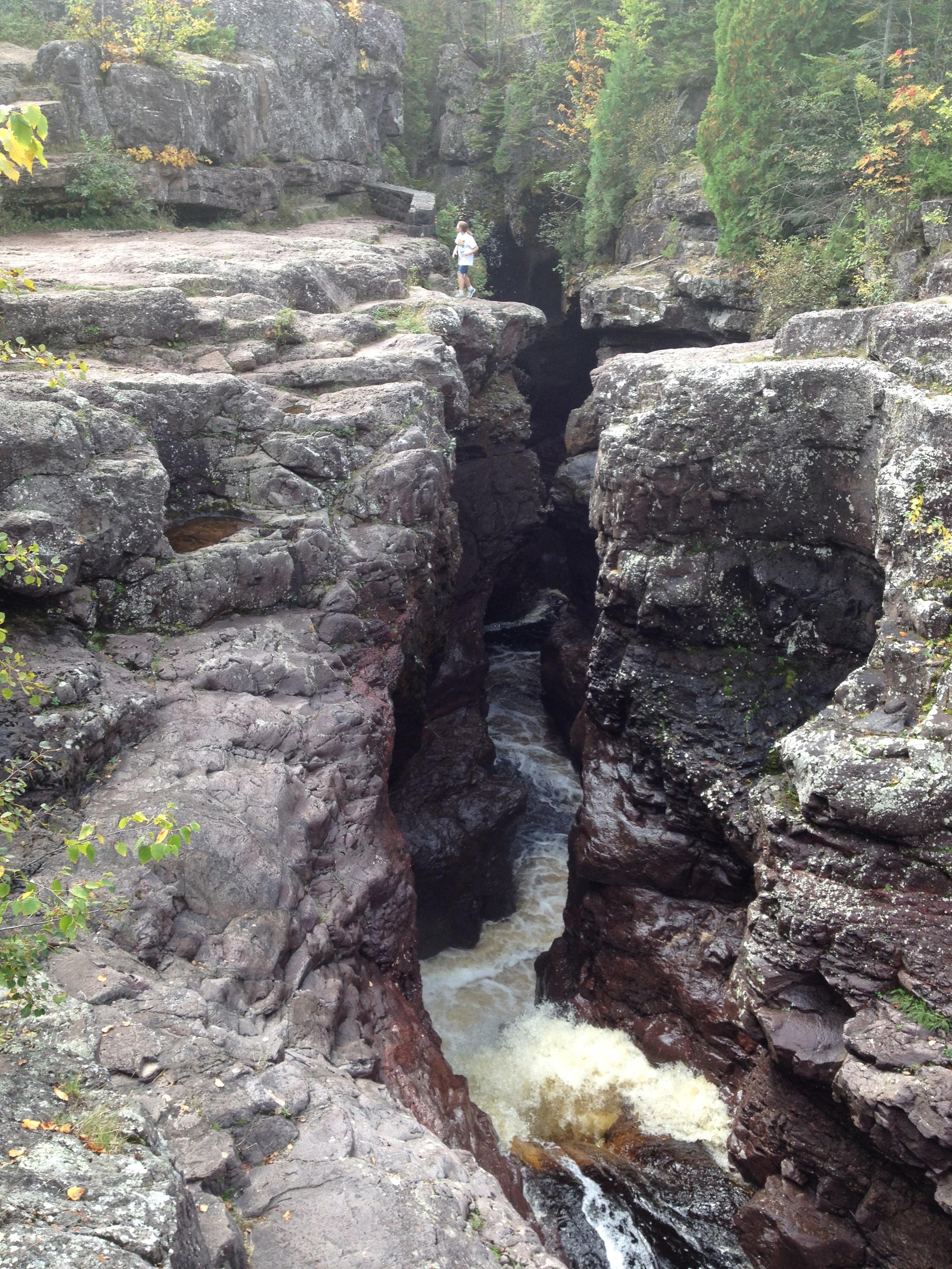 Waterfalls at Temperance River State Park