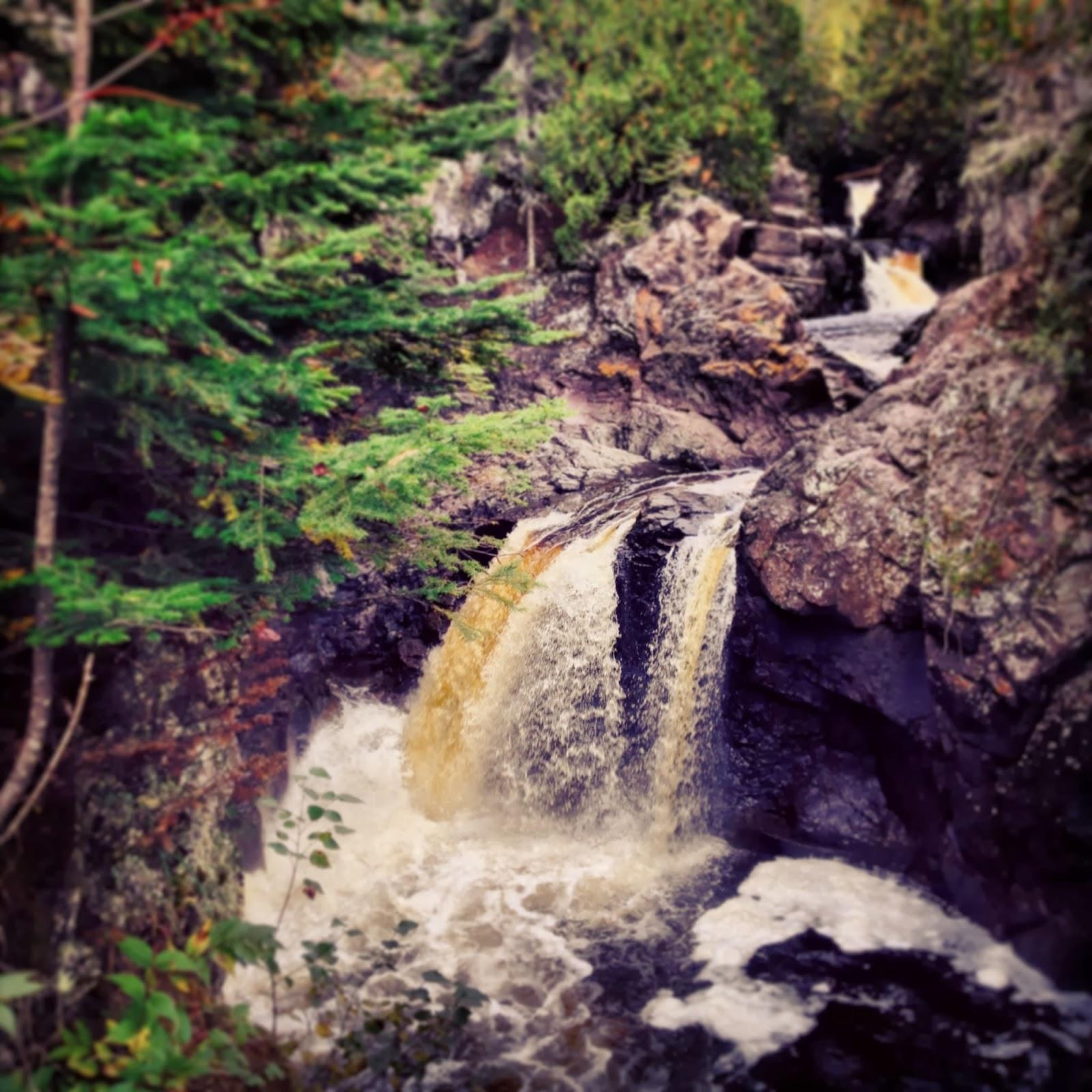The cascades of Cascade State Park
