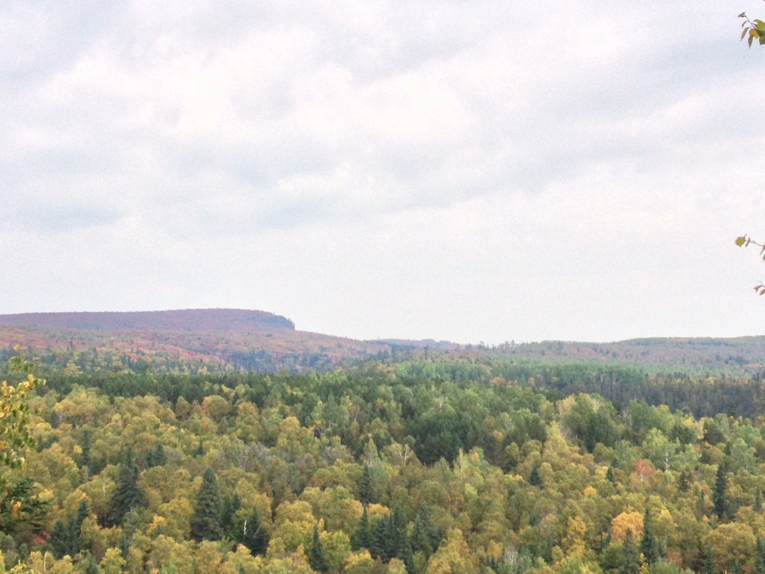 View from the lookout at Cascade River State Park