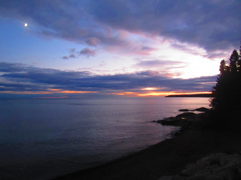 Sunset at Cascade State Park