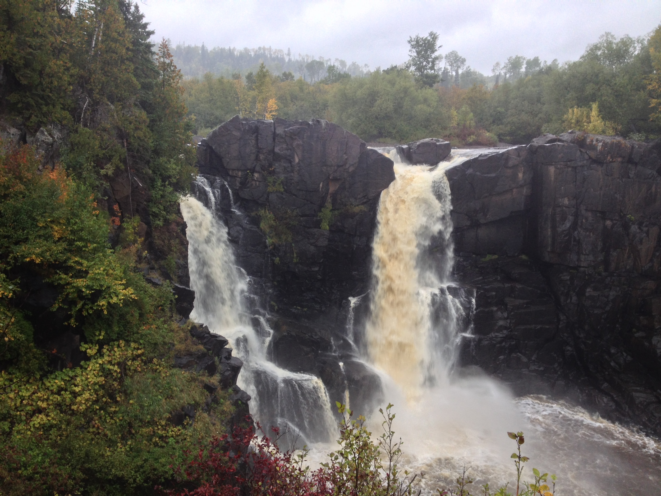 High Falls on Pigeon River at Grand Portage State Park