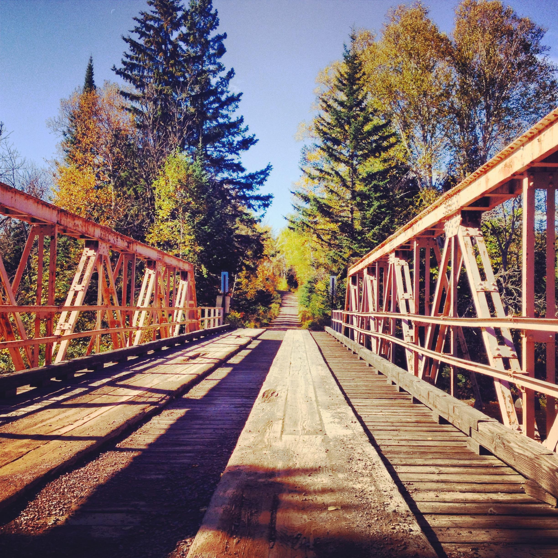 Bridge in Superior National Forest