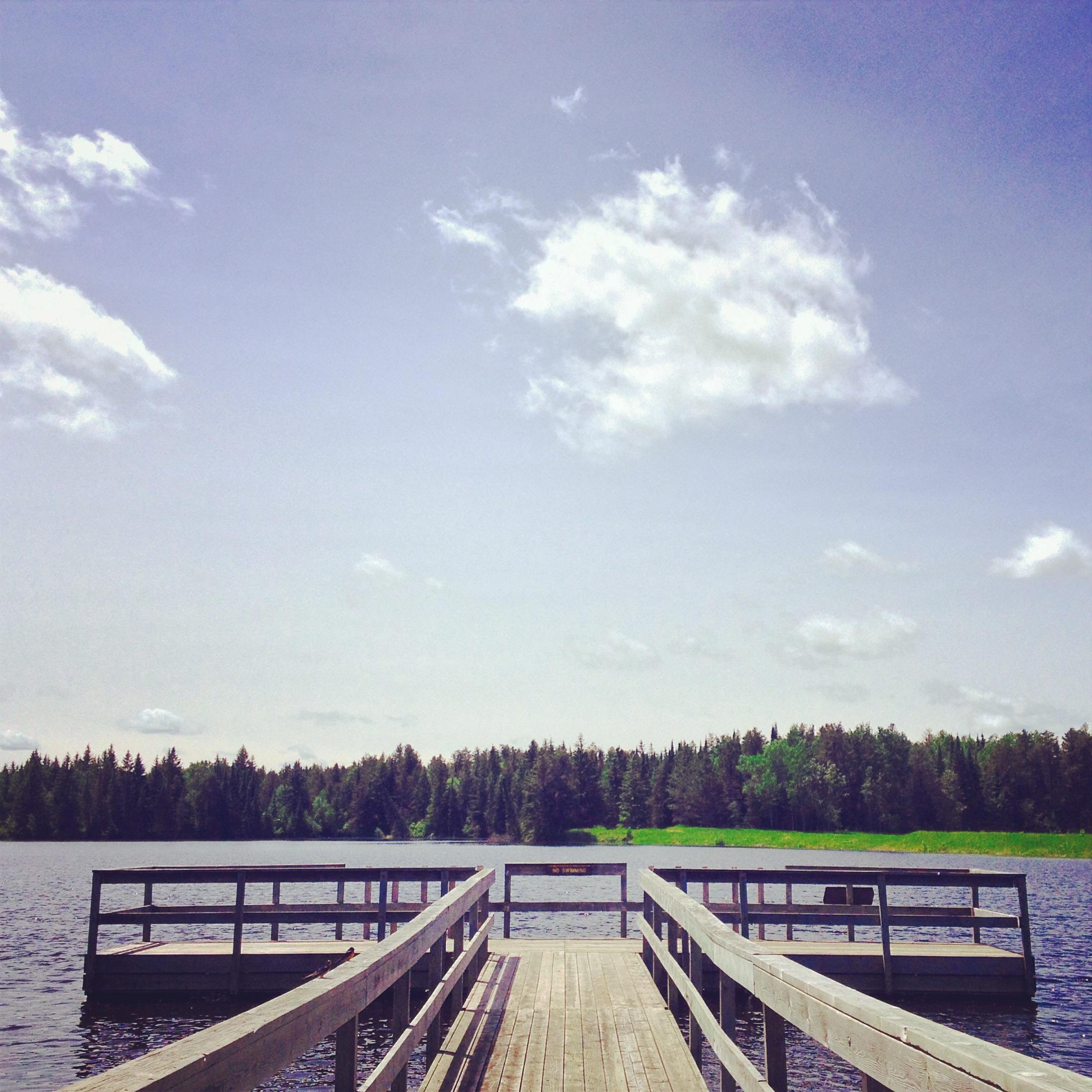 Dock at Lake Hayes State Park