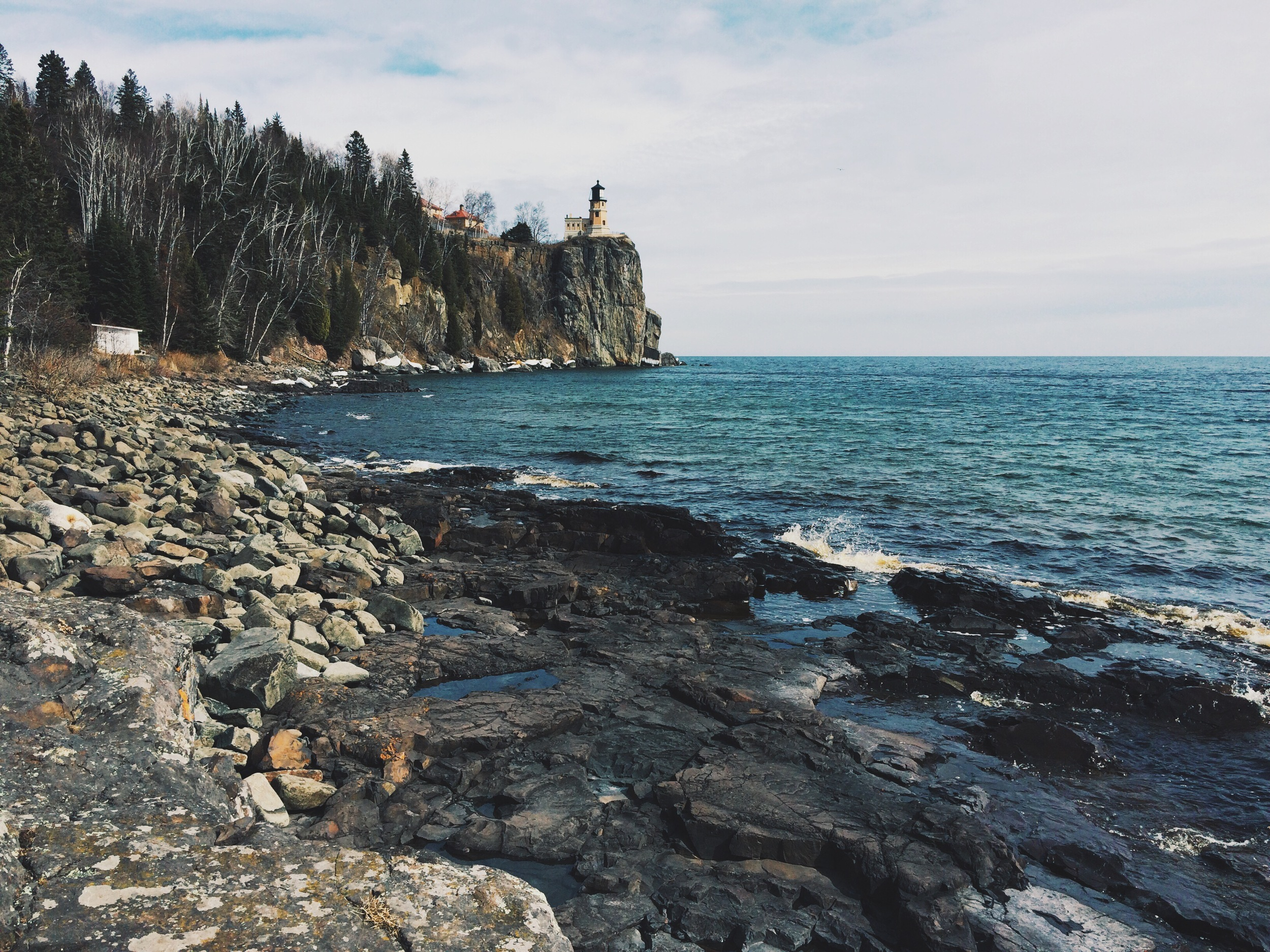View of Split Rock Lighthouse