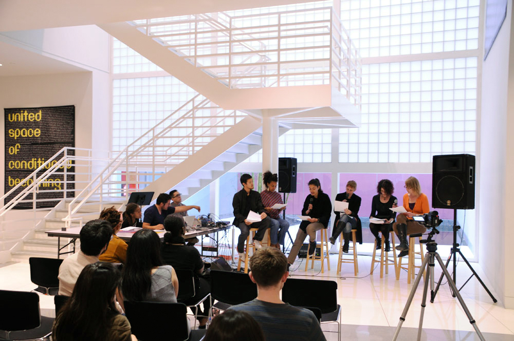 YBCA Reading Performance, Renee Green, DJ Lengua and RPW group, 2010.jpg