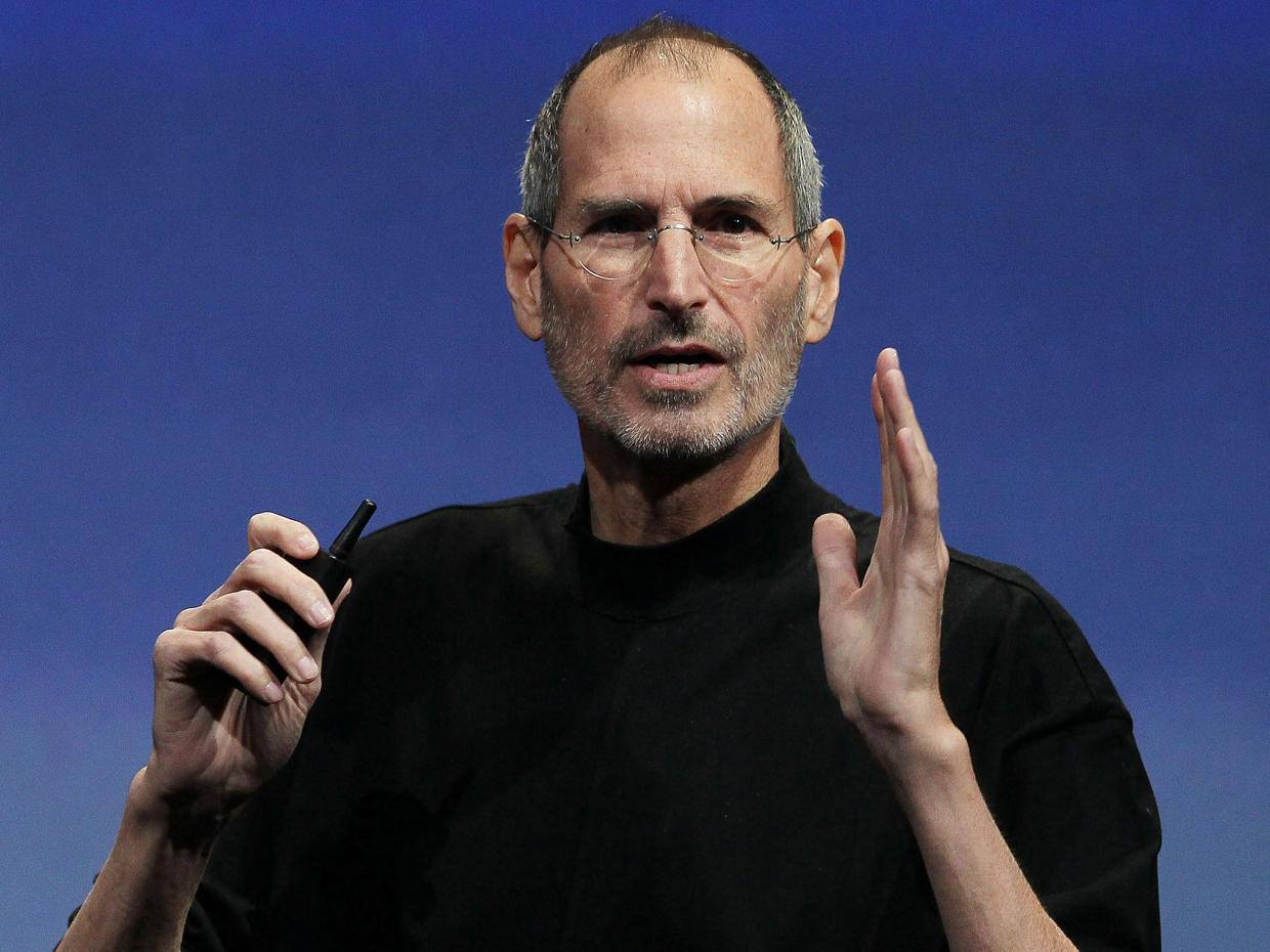 Steve Jobs, from www.independent.co.uk