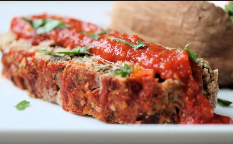 Lisa Malcolm's Paleo Sweet Potato Meatloaf