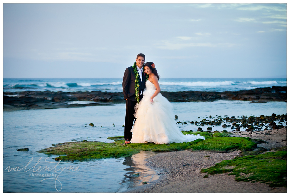 Mauna Lani Beach Wedding