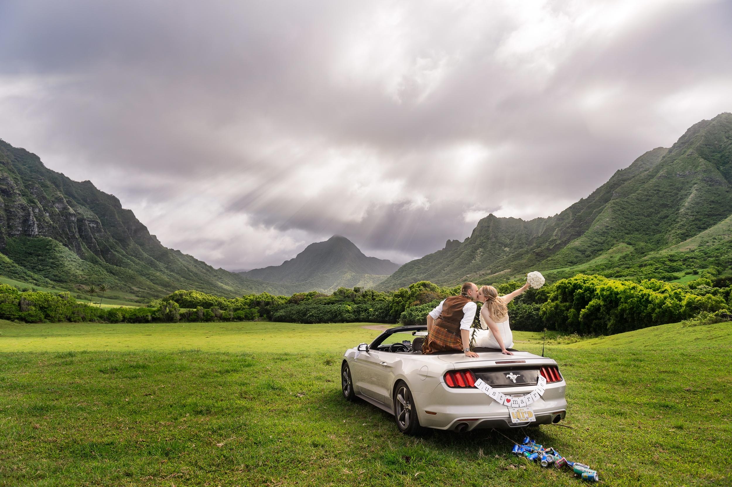 Photo courtesy of  L`amour Photography - Honolulu, Oahu