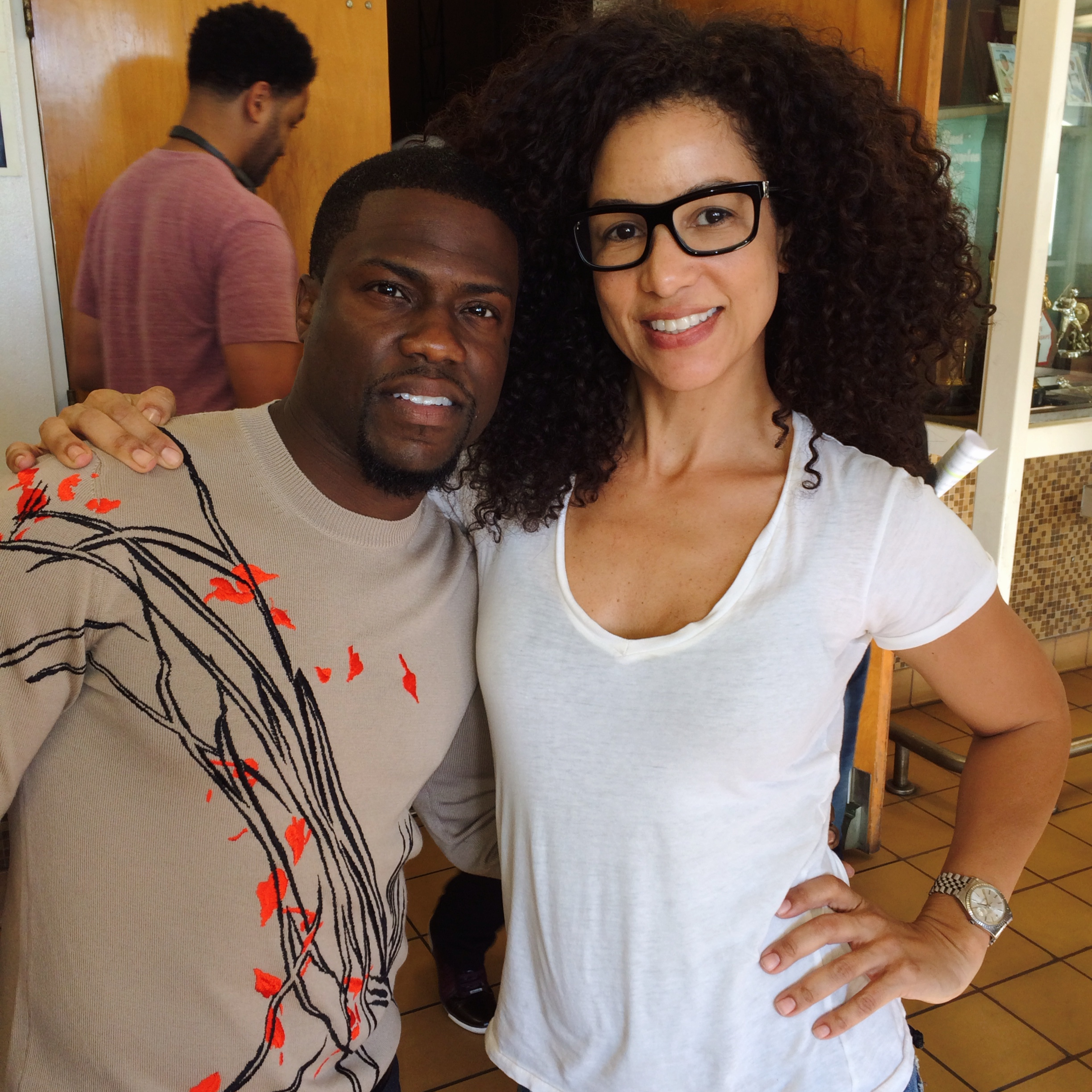 Melissa Meister and Kevin Hart.JPG