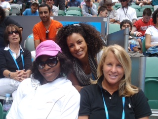 Melissa Meister and Jill Smoller, and Serena Williams.JPG