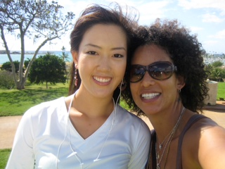 Melissa Meistr and Michelle Wie golf.JPG