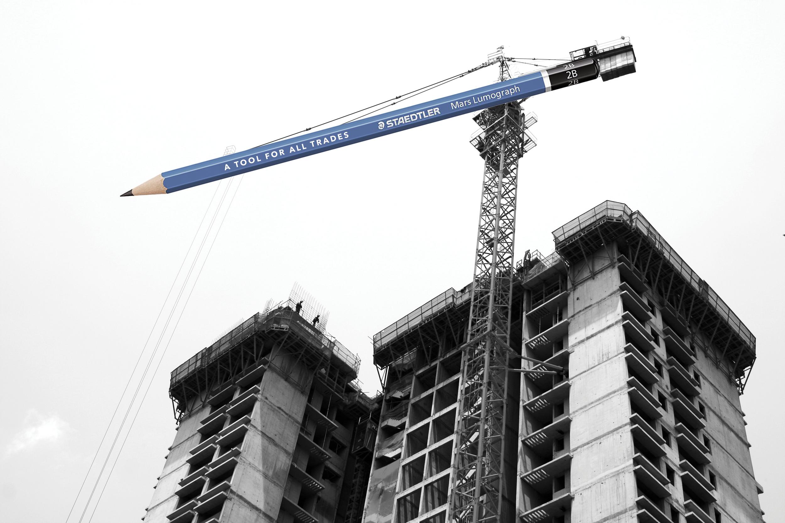 Construction Crane:  Drafting the Future