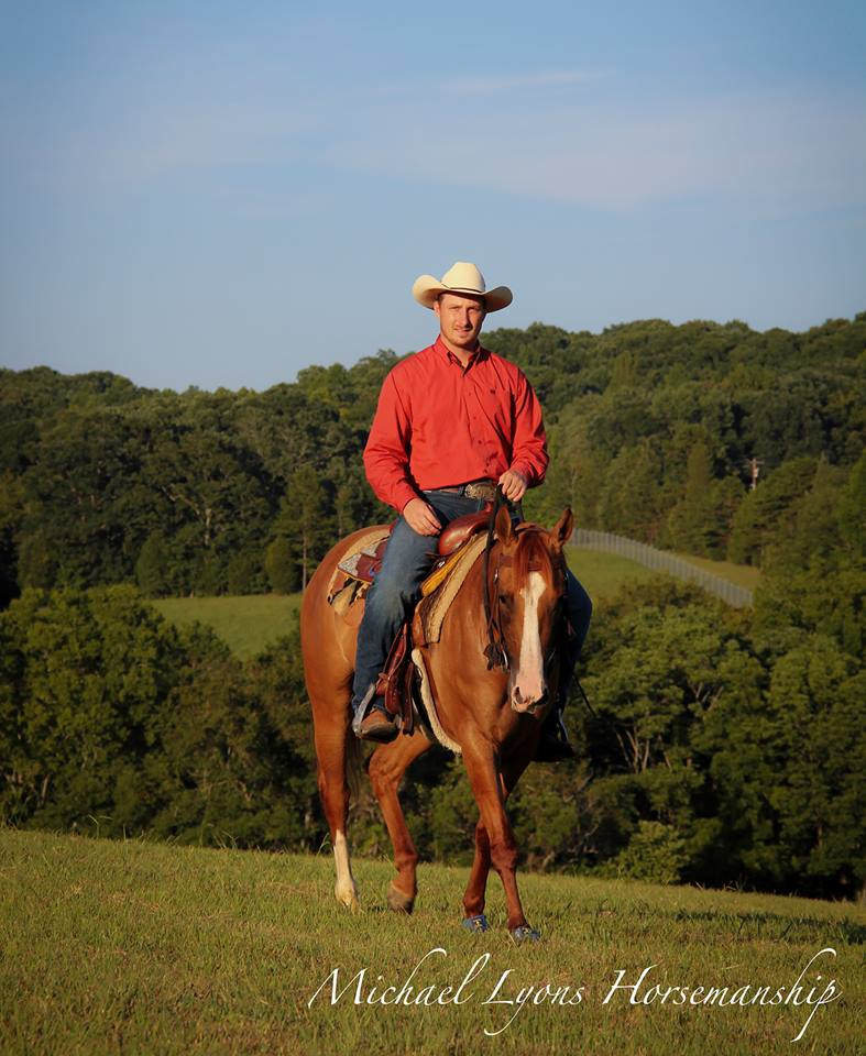 Michael Lyons - Michael Lyons is the son of John Lyons. Michael has dedicated his life to continuing his father's legacy and bettering the relationship between horse and rider.