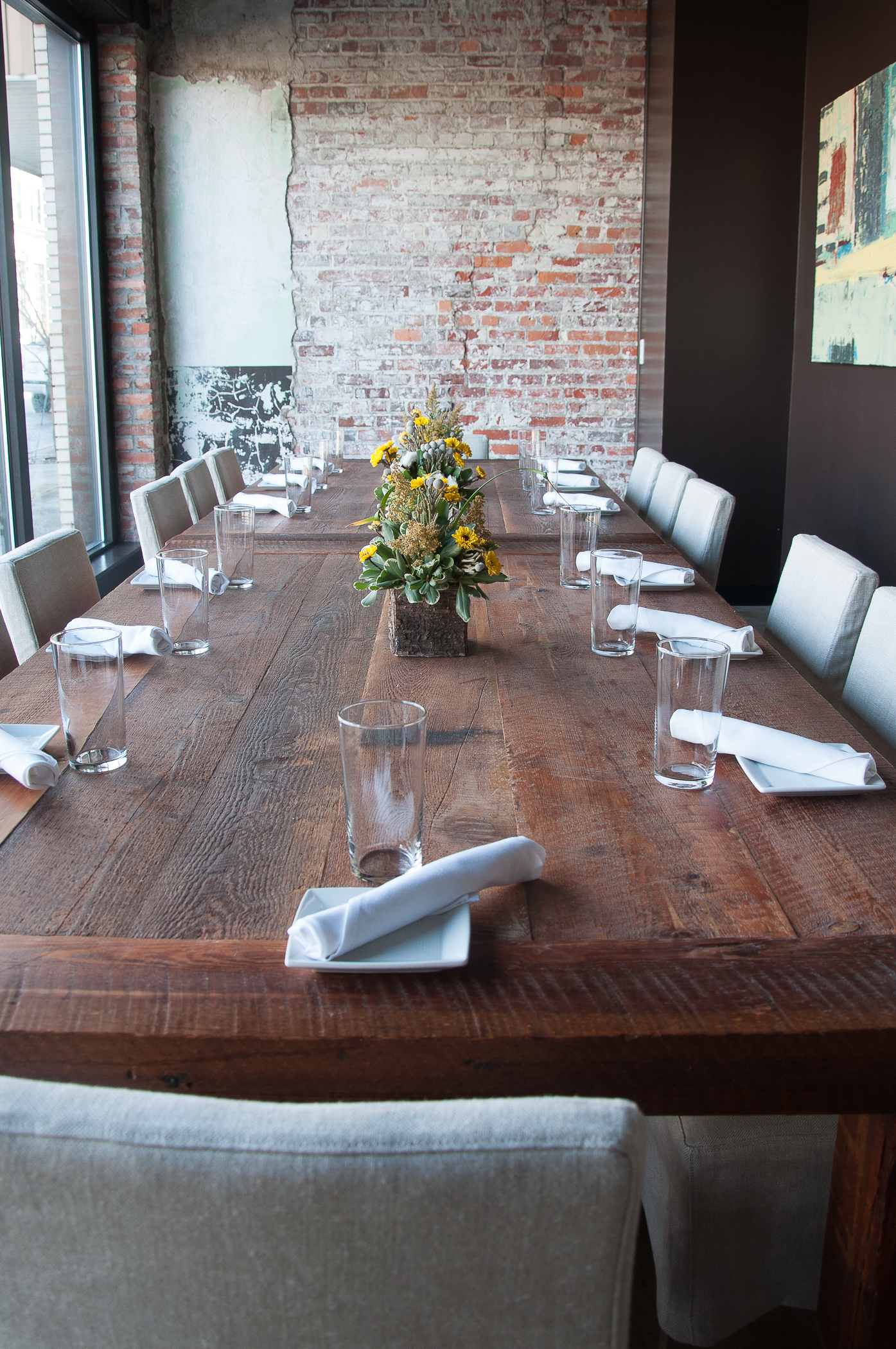 Handcrafted Restaurant Table