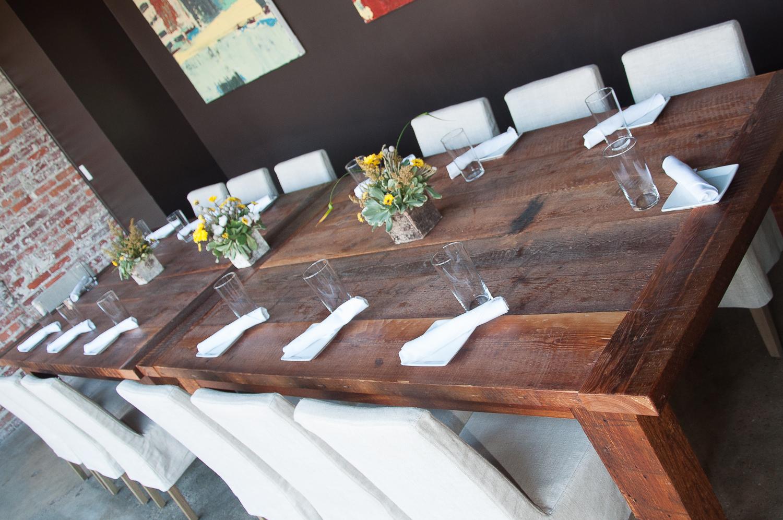 Fancy Fixings Table