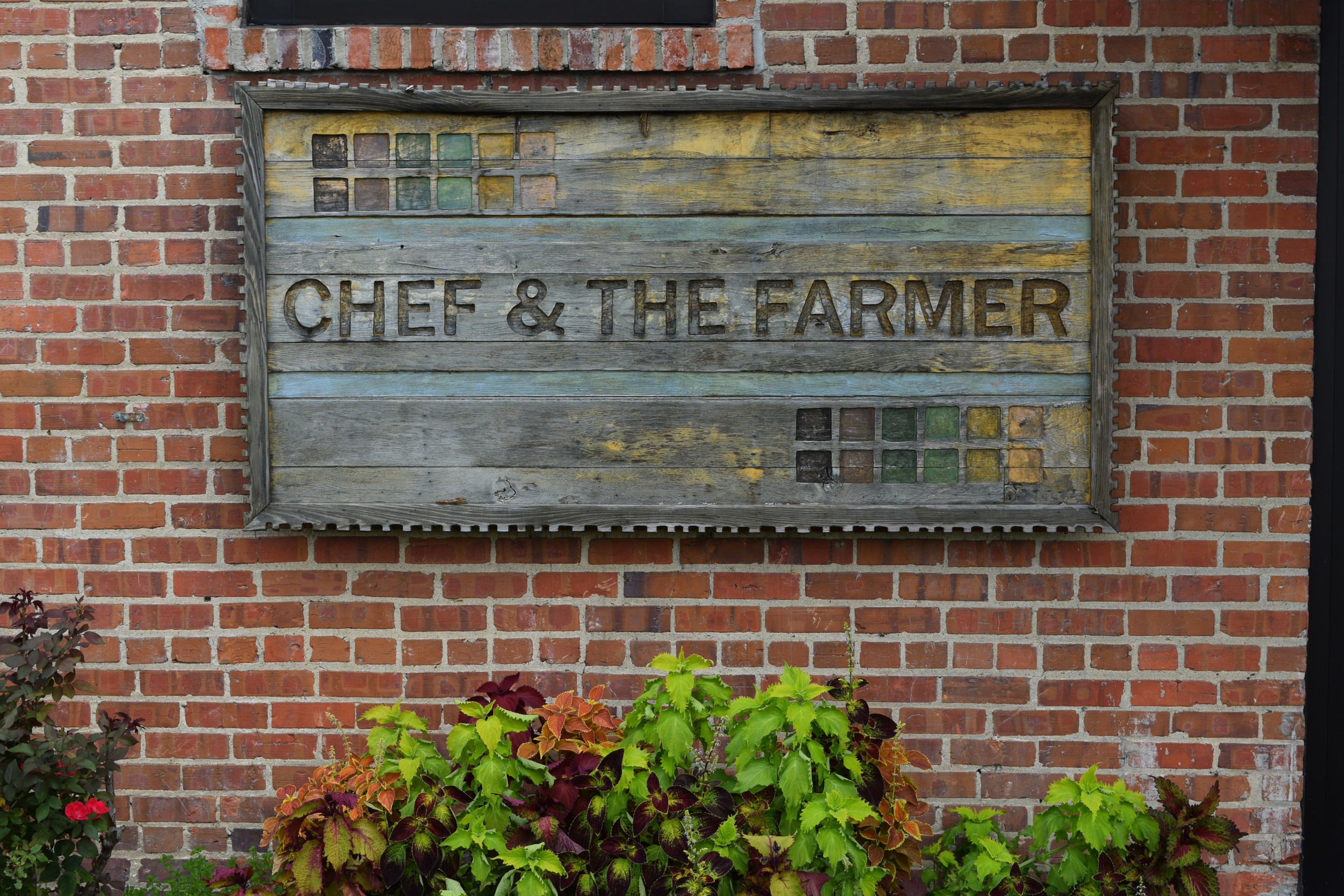 Custom Wood Restaurant Sign