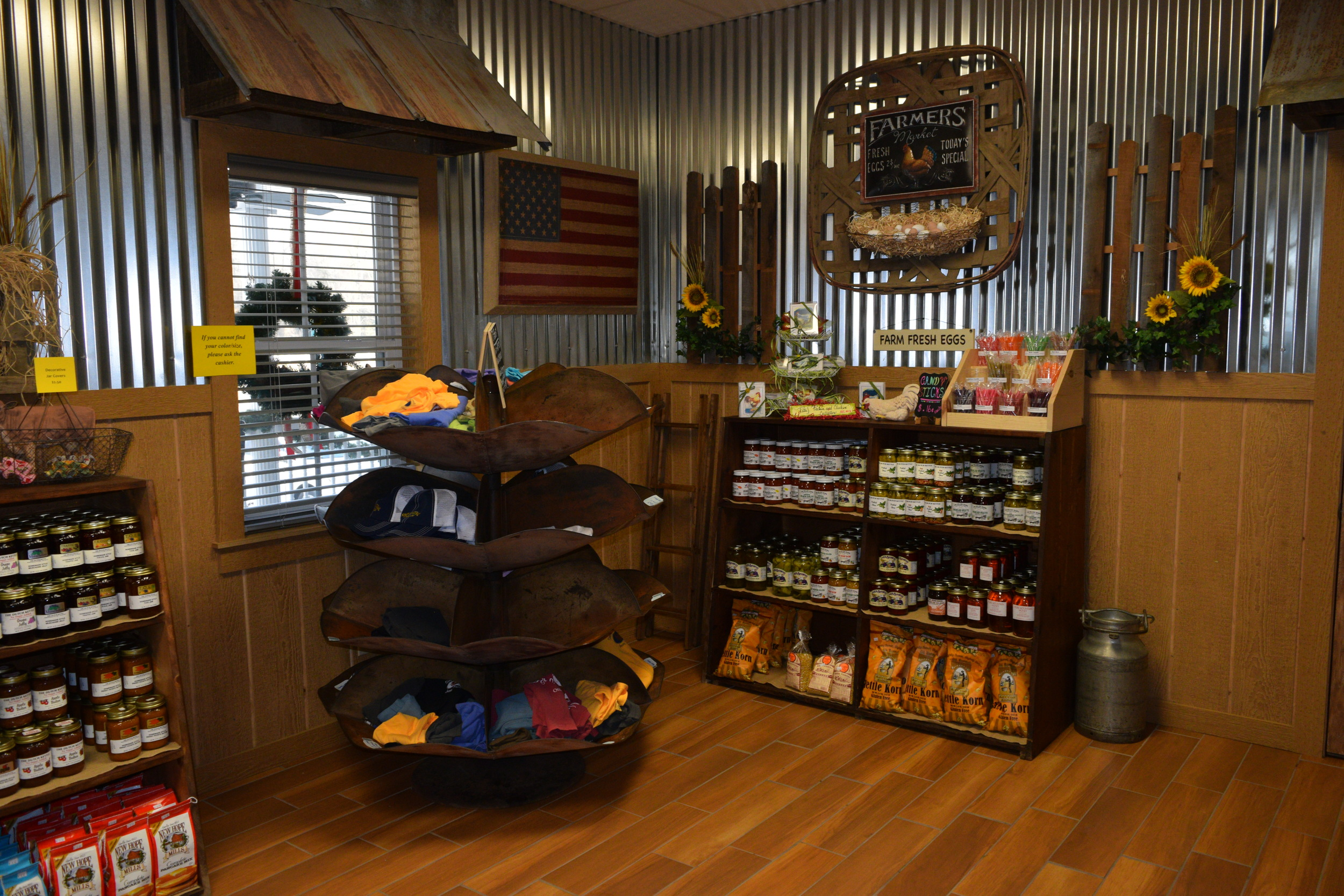 Farm Store Shelving