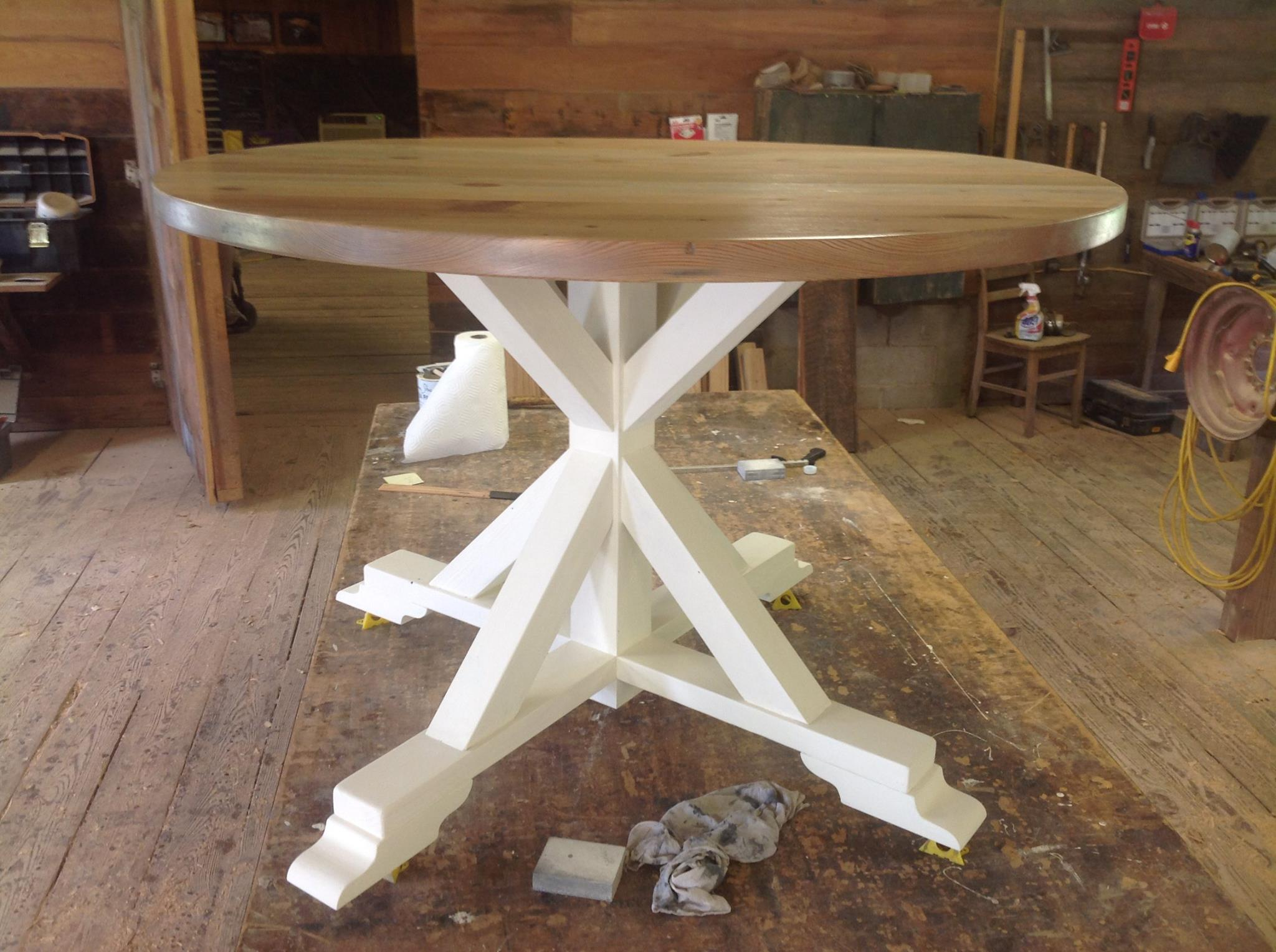 Custom Made Circle Kitchen Table