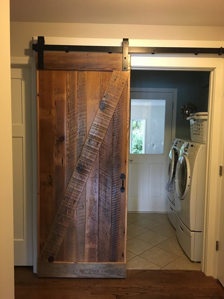 Custom Interior Barn Door