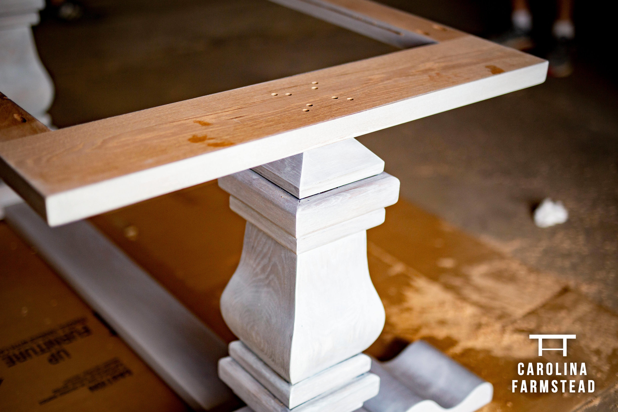 Handcrafted Custom Farm Table