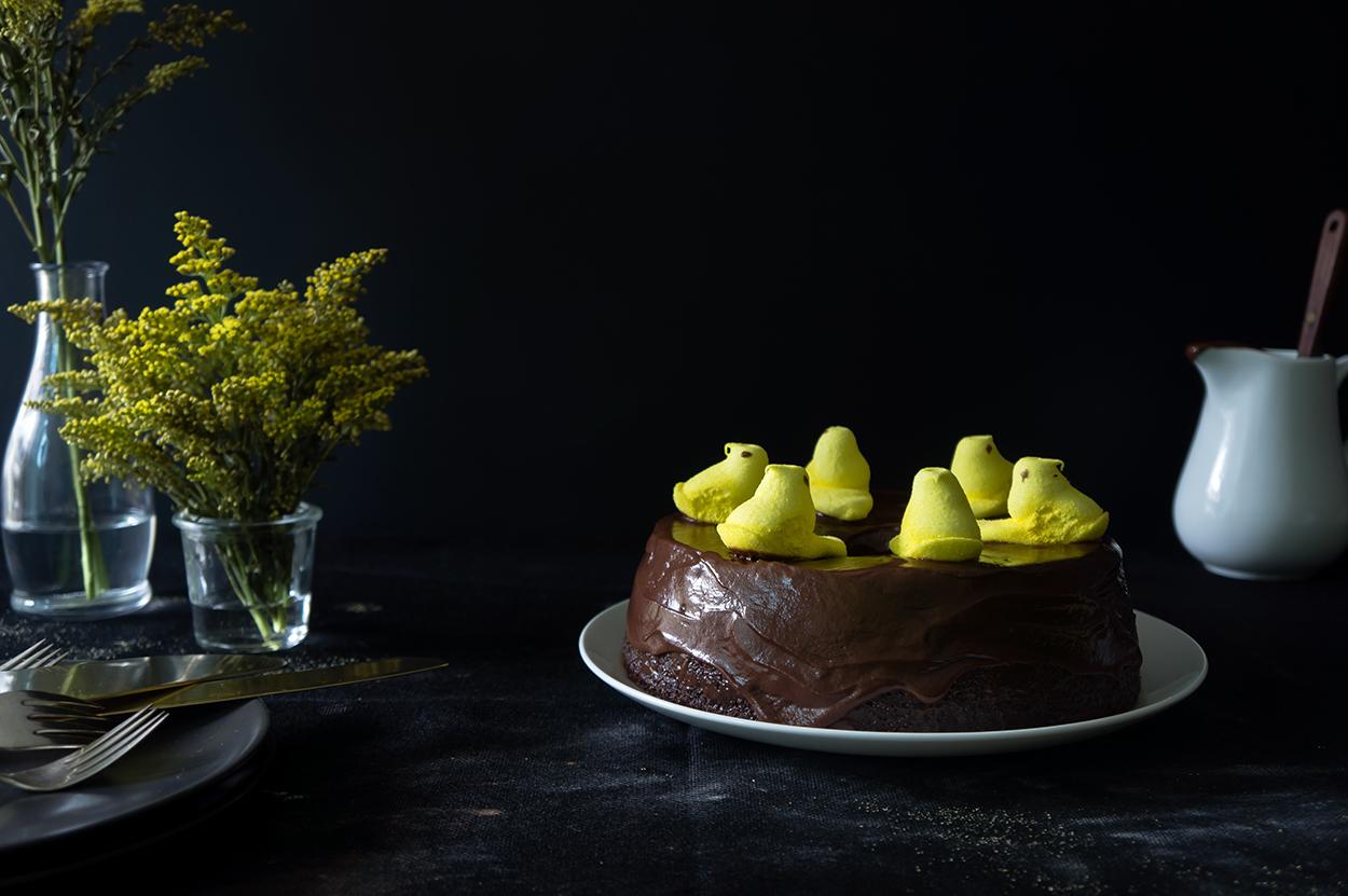 Banana Chocolate Loaf Cake