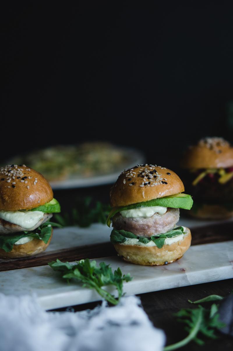 Tuna sliders recipe
