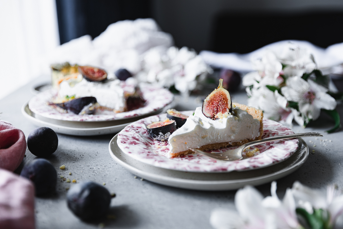No-bake fig tart