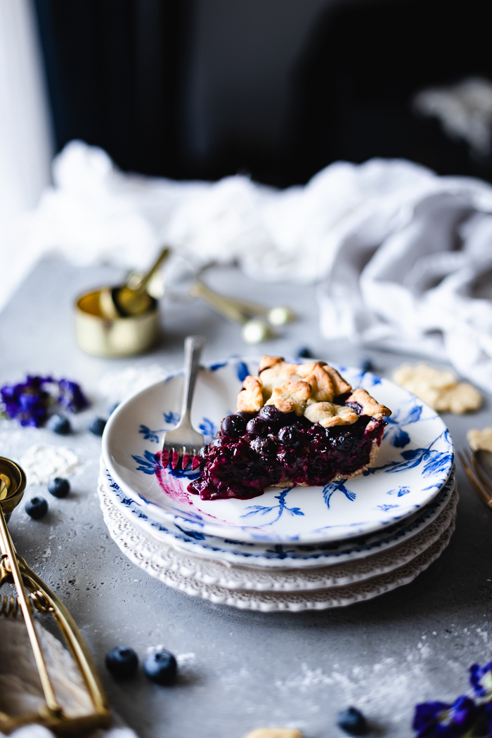 How to make blueberry pie
