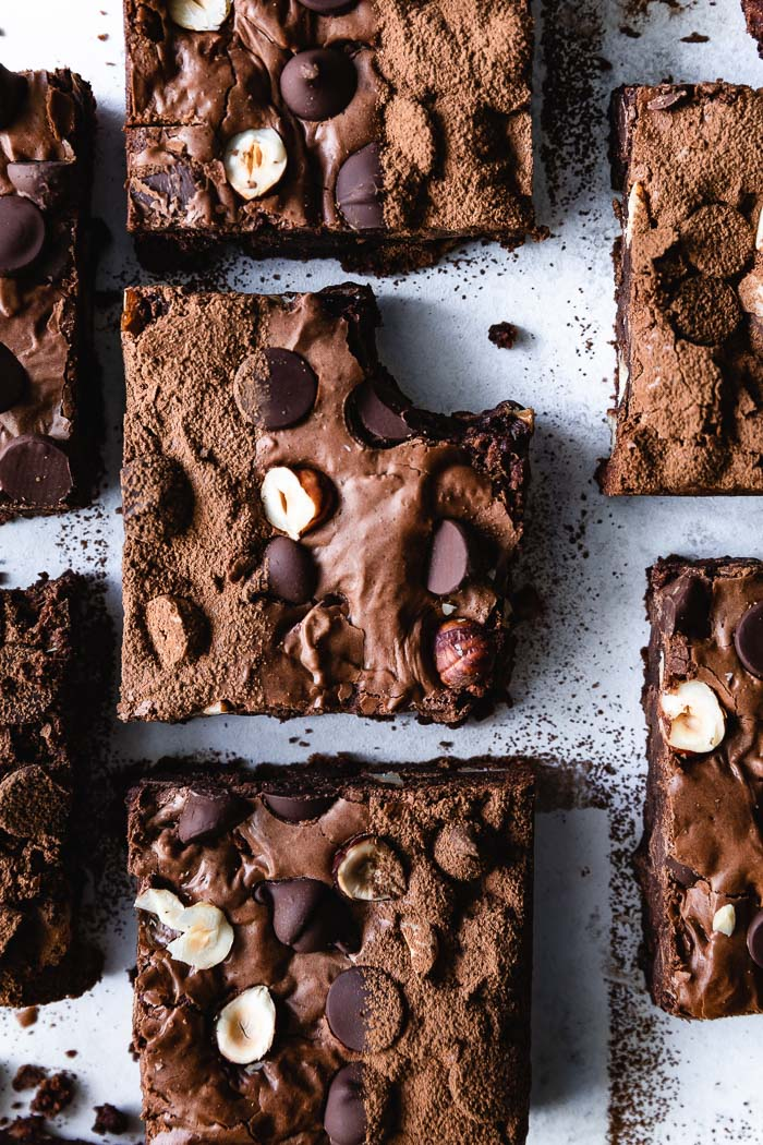 I made this brownies using the sponge cake technique